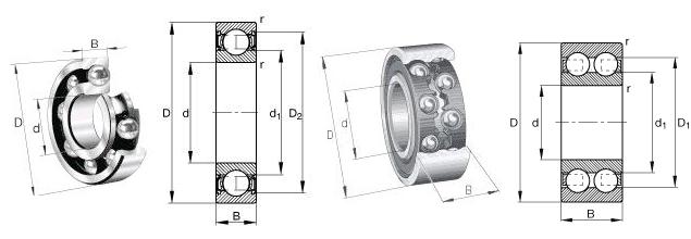 NSK 61904-Z Bearing   1060904bearing 20x37x9 Size - Deep